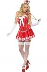 Медсестра в красном