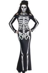 Длинное платье Скелет