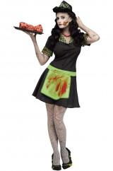 Зомби официантка