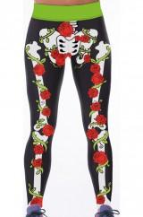 Цветные ноги скелета