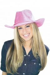 Розовая шляпа ковбоя