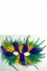 Цветная карнавальная маска