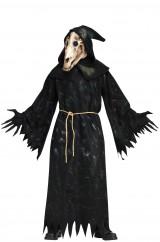 Мрачный скелет лошади
