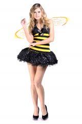 Костюм пчелки в стразах