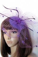 Шляпка Фиолетовая паутинка