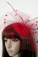 Шляпка Красная паутинка