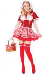 Костюм Красной Шапочки-модницы